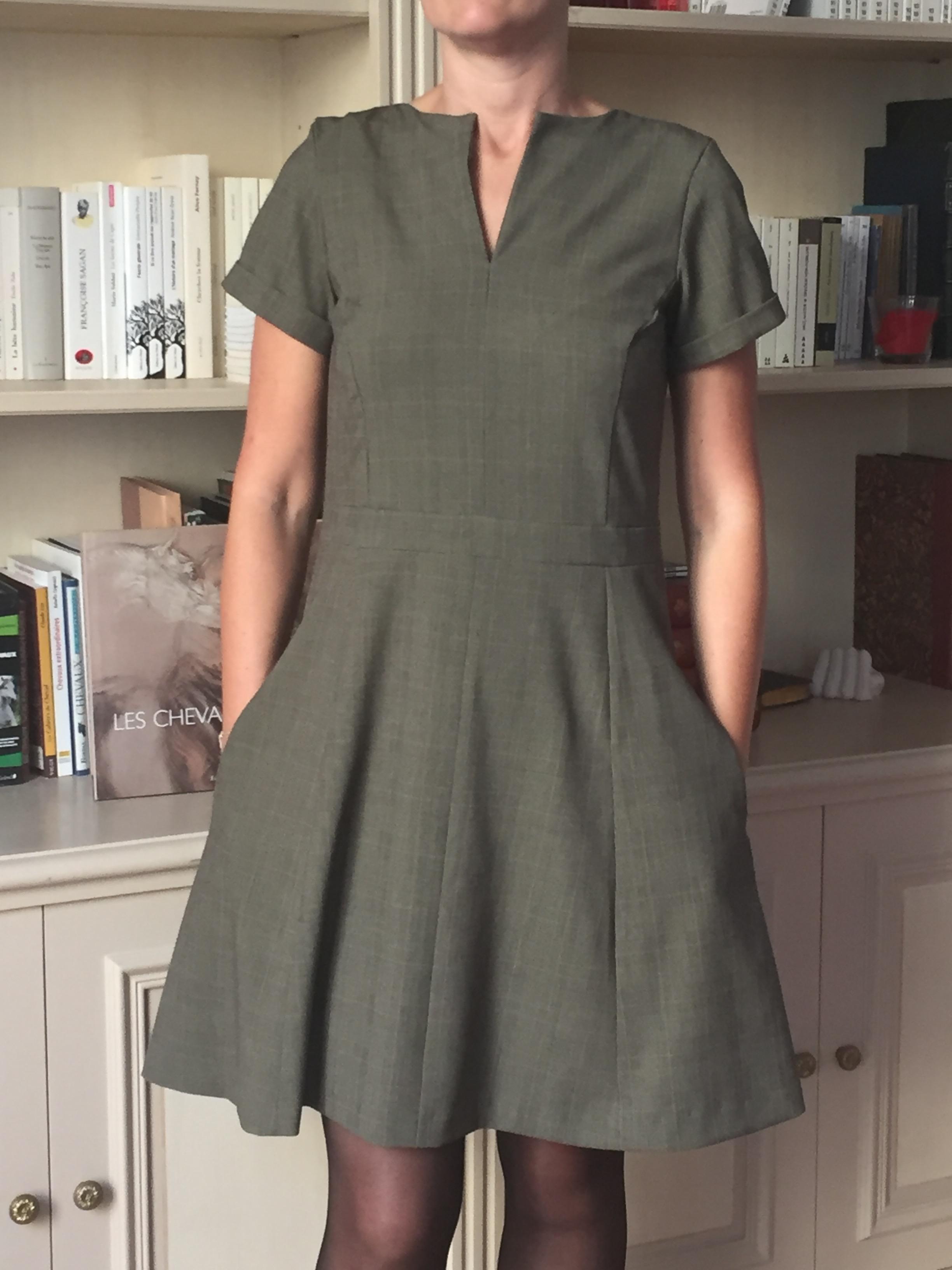 Robe Harriet - La Maison Victor - Couture en coulisse